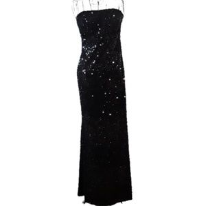 Full Length Sequin Gown